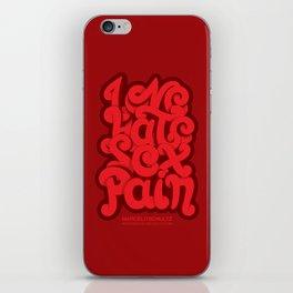 Love - Hate - Sex - Pain iPhone Skin