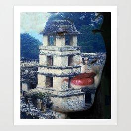 Chiapas Vision Art Print