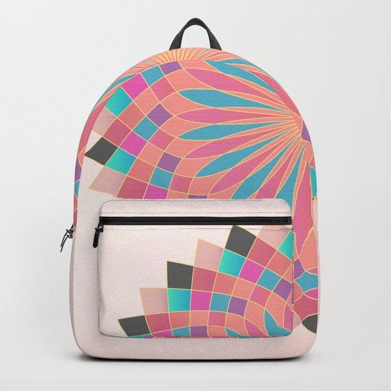 Lotus Mandala Backpack