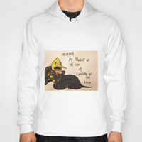 lemongrab Hoodies featuring A Life Time on the Hips by Matty_Cat