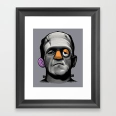 Mr Frankie Head Framed Art Print