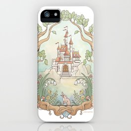 Castle in a Magical Forest Kingdom iPhone Case
