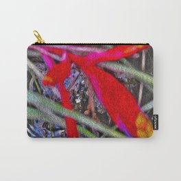 Bromeliad in the Cathedral Carry-All Pouch
