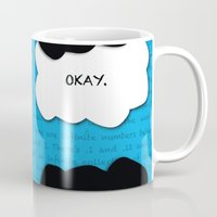 the fault Mugs featuring the fault in our stars by lizbee