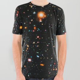 Hubble Extreme Deep Field All Over Graphic Tee