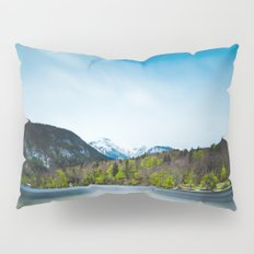 Lake Bohinj with Alps in Slovenia Pillow Sham