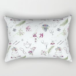 Bridal Shower Grace Rectangular Pillow
