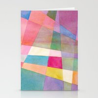 grid Stationery Cards featuring Grid by Dreamy Me