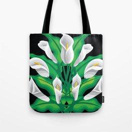 Calla Lily Tote Bag