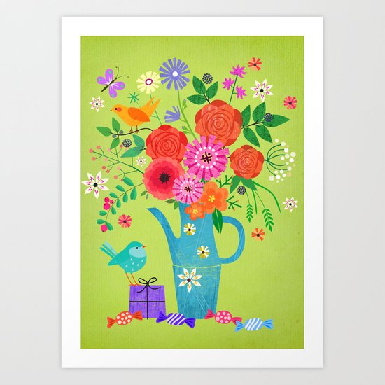 birthday wishes Art Print