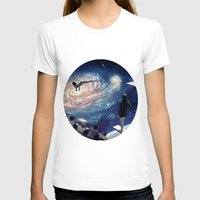 swimming T-shirts featuring Swimming Pool by Cs025