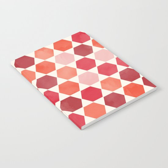 Red Tiles Notebook