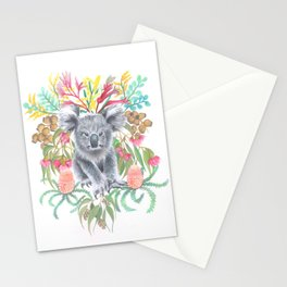 Home Among the Gum leaves Stationery Cards