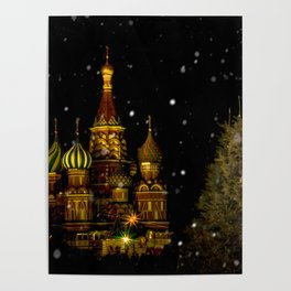 Moscow Night Poster