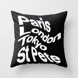 WORLD TOUR TRIP Throw Pillow