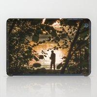 fishing iPad Cases featuring Fishing by Svetlana Korneliuk