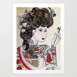 Min Hee  Art Print