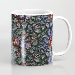 Black crystal gem wall Coffee Mug
