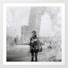 Memoirs of Beijing Art Print