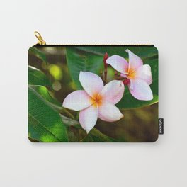 Plumeria 01 Carry-All Pouch