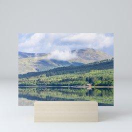 Moored at Loch Linnhe Mini Art Print