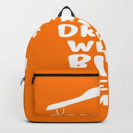 Always dress well but keep it simple Inspirational Quote Typography Design Backpack