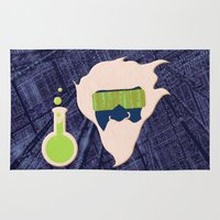 data Area & Throw Rugs featuring Data Scientist by Ryan Hill