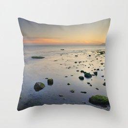Seasunset  dreams. Beach life Throw Pillow