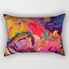 Color and Texture Rectangular Pillow