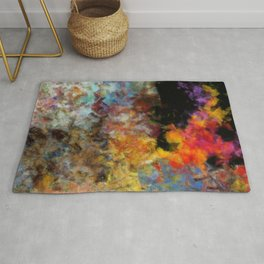 Flame and Ashes Rug