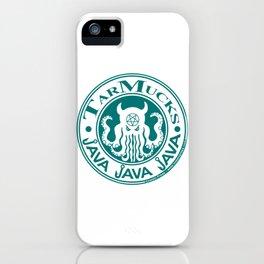 Tarmucks Java - Coporate Coffee House Franchise iPhone Case