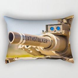 Death Stalker Tank Rectangular Pillow