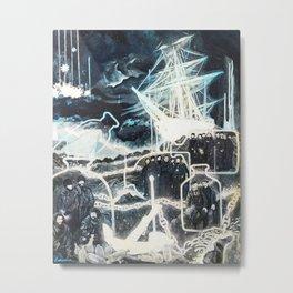 """Washed Ashore"" Metal Print"