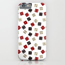 Casino Pattern | Gambling Luck Money Poker Cards iPhone Case