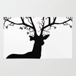 Tree Stag II Rug