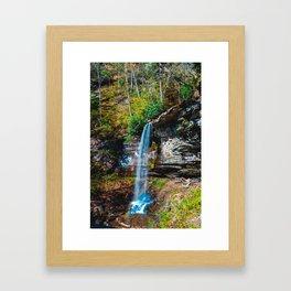 Falls of Hills Creek Sixty Five 1017 Framed Art Print