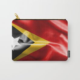 East Timor Flag Carry-All Pouch