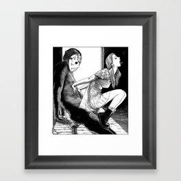 asc 563 - Le rite de passage (The prom night) Framed Art Print