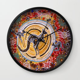 BORA THE KANGAROO  5 Wall Clock