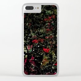 Ta rotation Clear iPhone Case