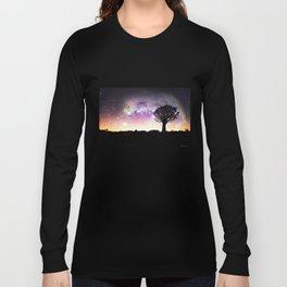 African galaxy skyline - Landscape Photography #Society6 Long Sleeve T-shirt