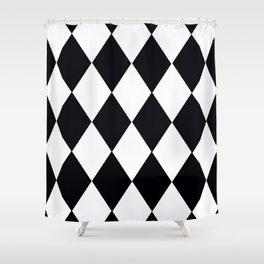 HARLEQUIN #1 Shower Curtain