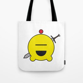 allien emoji, warrior, yellow master Tote Bag