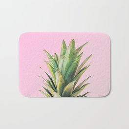 Pineapple Pink Bath Mat