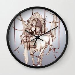 A la sillita de la reina Wall Clock