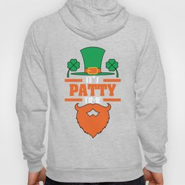 """""""It's Patty Time""""  tee design. Makes an awesome gift to your family and friends too! Grab your now!  Hoody"""