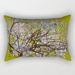 Spring Tree Abstract digital art  composition Rectangular Pillow
