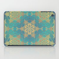 henna iPad Cases featuring Blue Henna by Truly Juel