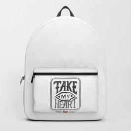 Take my heart Backpack