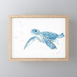 Turtellini Framed Mini Art Print